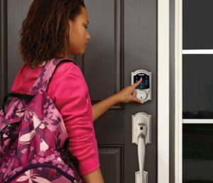 Residential Smart Lock with Keypad