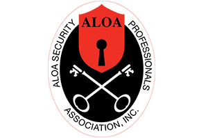 Aloa locksmith logo